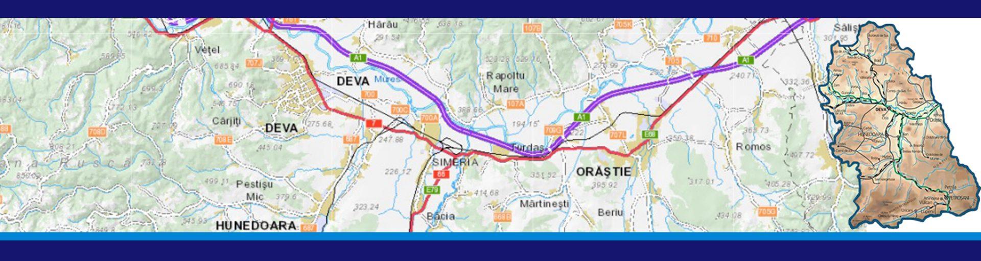 Harta Bcpi Din Județul Hunedoara Oficiul De Cadastru și